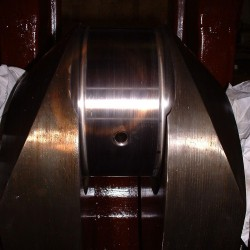 polished sulzer crankpin