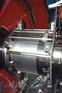 turbine journal repair insitu